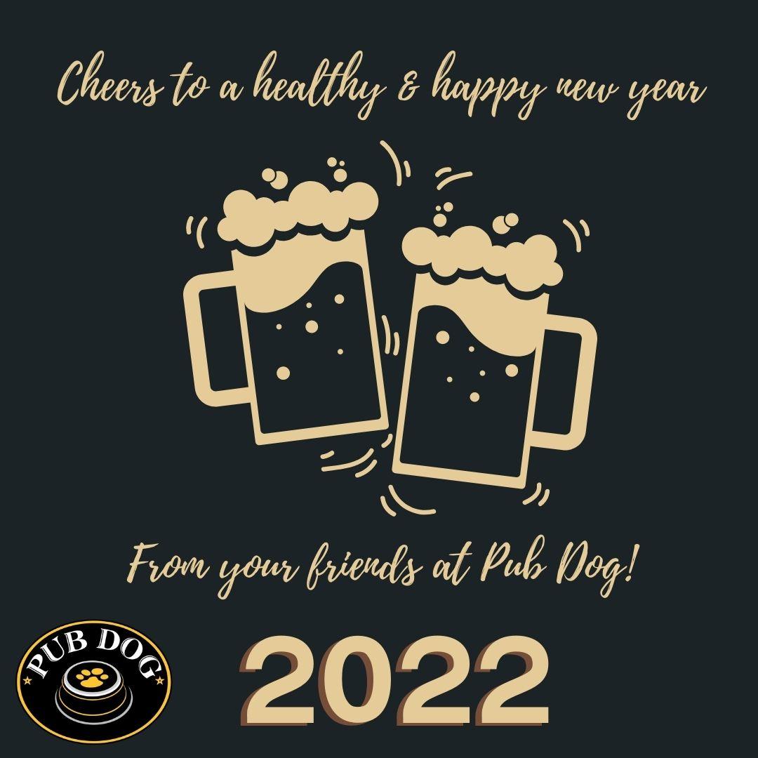 Pub Dog Splash Banner