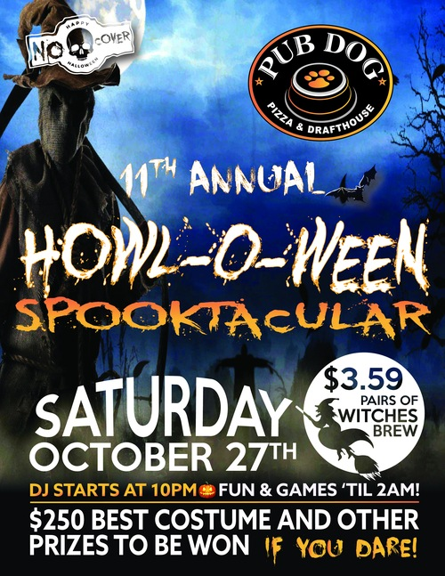 11th Annual Howl-O-Ween Spectacular - Saturday October 27th