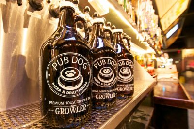 pubdog-brewing-growlers-lineup