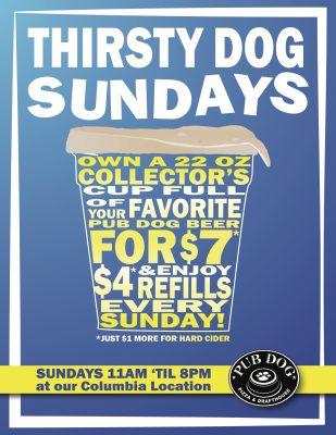 SundayThirstyCup Poster 2019